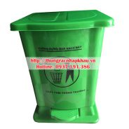 Thùng rác nhựa đạp chân 15 lít