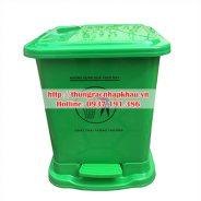 Thùng rác nhựa đạp chân 30 lít