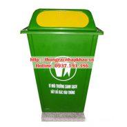 Thùng rác composite 60 lít nắp đẩy