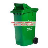 Thùng rác nắp hở 100 lít, 120 lít, 240 lít